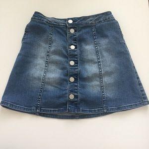 CALVIN KLEIN| jean skirt